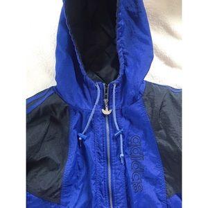 🌵 Adidas Blue Jacket